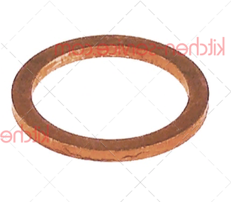Уплотнитель плоский 26x20x2 мм медный ASTORIA C.M.A. (12158)