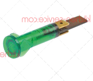 Сигнальная лампочка зеленая 230V MODULAR (463.014.00)