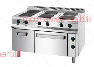 Плита электрическая 6-конфорочная 900 серия APRE-129FE APACH