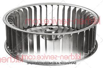 Крыльчатка вентилятора KVN008, VN1025A0 на печь UNOX. KIT TURBINE XB-XV-XG-XVC-XBC VN1025A2 D=196 H=61 38 PALE DADO M8