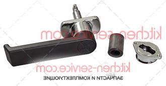 Ручка MG0420A0, KMG0420A, MG420, KMG002 в сборе на дверь печи UNOX XV
