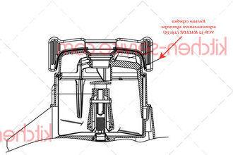 Кольцо скребка вертикального куттера VCB-32 HALLDE (24135)