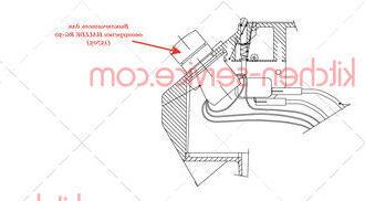 Выключатель для овощерезки HALLDE RG-50