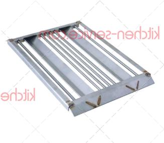 Решетка стальная 440x290x20 мм MODULAR (611.524.00)