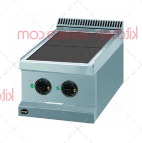 Плита электрическая 2-х конфорочная 700 серии APRE-47QT APACH