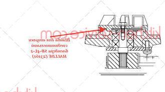 Шайба для втулки соединительной блендера SB-4L-2 HALLDE (23161)