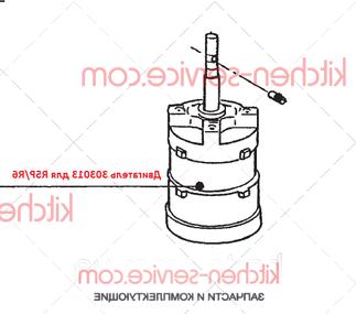 Двигатель 303013 для R5P/R6 (380v/50hz/3)