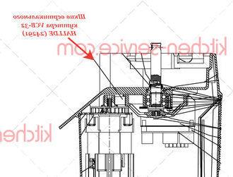 Шкив вертикального куттера VCB-32 HALLDE (24291)