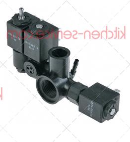 Блок клапана электромагнитного 3 катушки HENKELMAN (370505)