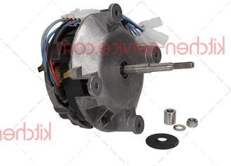 Электродвигатель KVN003, VN1000B для печи UNOX XB-XV-XG-XVC-XBC. MOTORE COND.5uF 200W ALB.M8 CONN.5 POLI