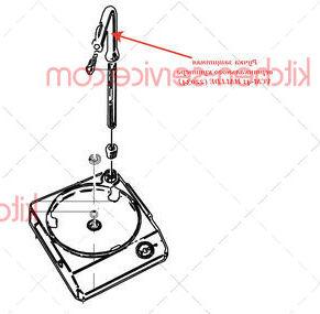 Ручка защитная вертикального куттера VCM-41 HALLDE (22034)
