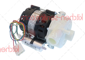 Двигатель 8000 для насоса моющ. сист. машины посудомоечной т.м. VORTMAX (ВОРТМАКС)  модели FDME 400K