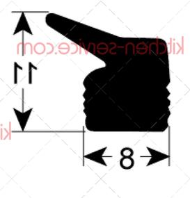 Уплотнитель для крышки HENKELMAN (0320212)