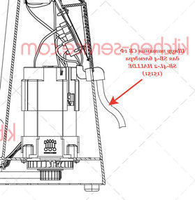 Шнур питания CB 1Ф для SB-4 блендера SB-4L-2 HALLDE (15151)
