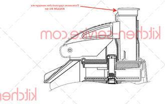 Толкатель круглый для овощерезки HALLDE RG-50